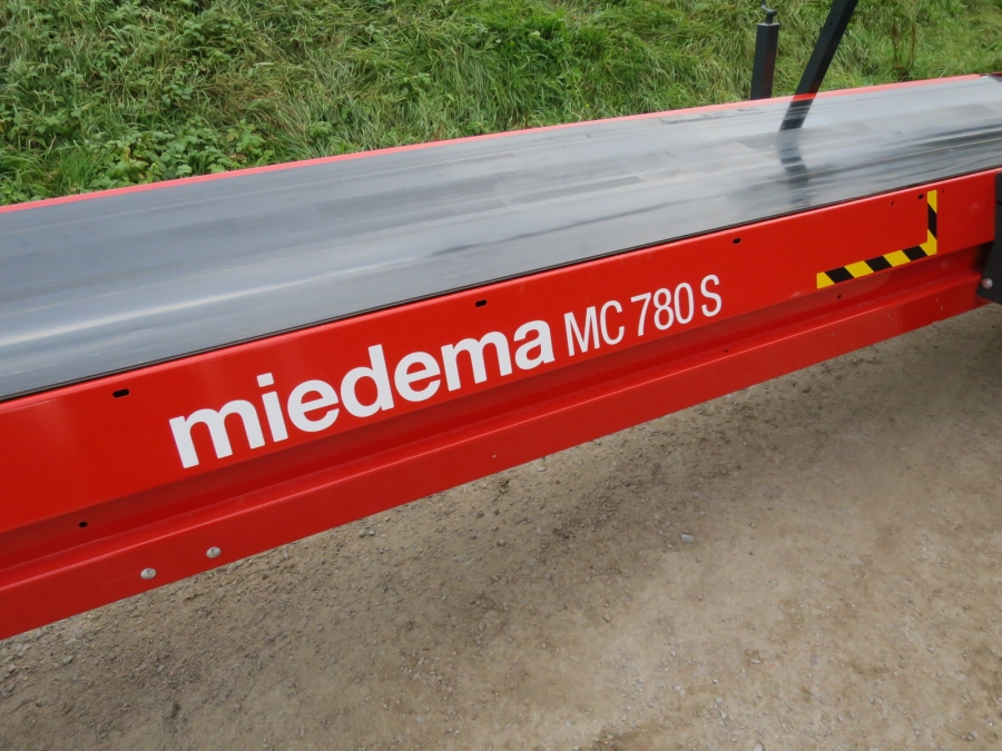 4900 Miedema belt weighing conveyor belt