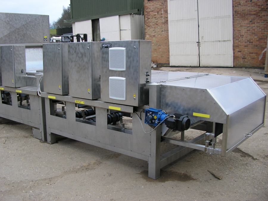3584 Newtec Celox optical grader for carrots